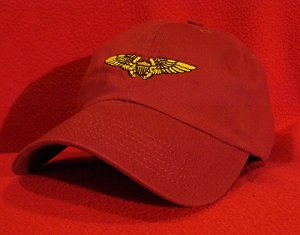 Naval / Marine Flight Officer wings hat