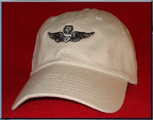 Army Master Aviator Pilot Wings ball cap