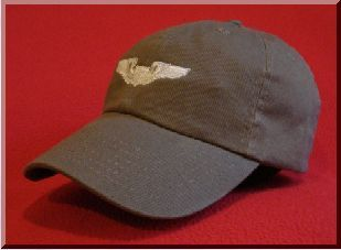 USAF Pilot wings hat