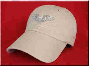 USAF BASIC PILOT WINGS BALL CAP
