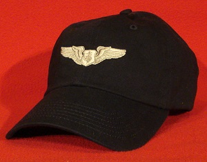 USAF Flight Nurse wings AeroMed hat