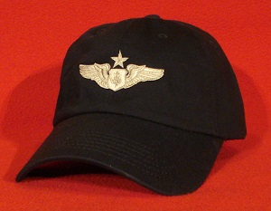 USAF Senior Flight Nurse wings AeroMed hat