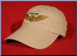 Northwest Airlines Pilot wings hat
