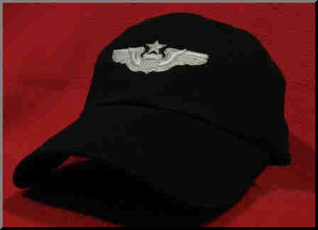 USAF Senior Pilot wings hat