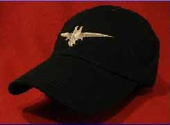 American First Officer Pilot wings hat