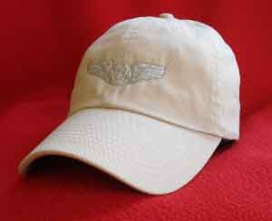 USAF Aircrew wings ball cap