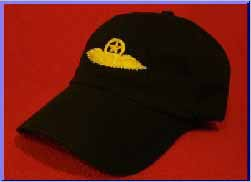 Continental Airlines Pilot wings hat