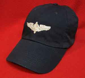 Flight Engineer Wings hat