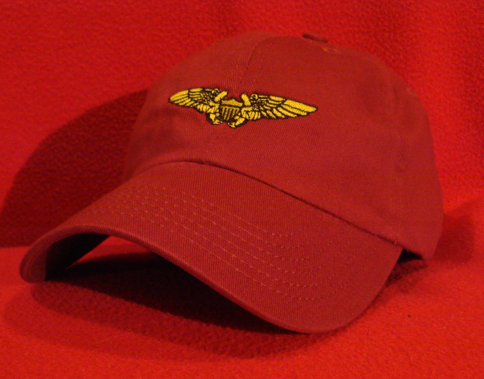 f4761ea724d Marine Aviation Wings Ball Caps for USMC USN and USCG Aviators