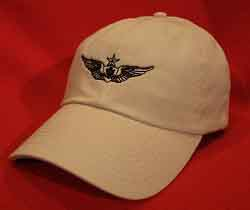 Army Senior Aviator wings hat