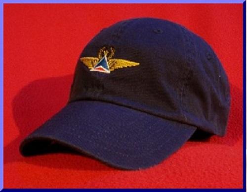 Airline Pilot / Flight Crew wings hats by Pilot Ball Caps