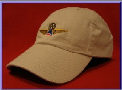 Delta Captain Pilot wings hat