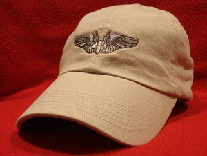 Aerial Gunner wings hat
